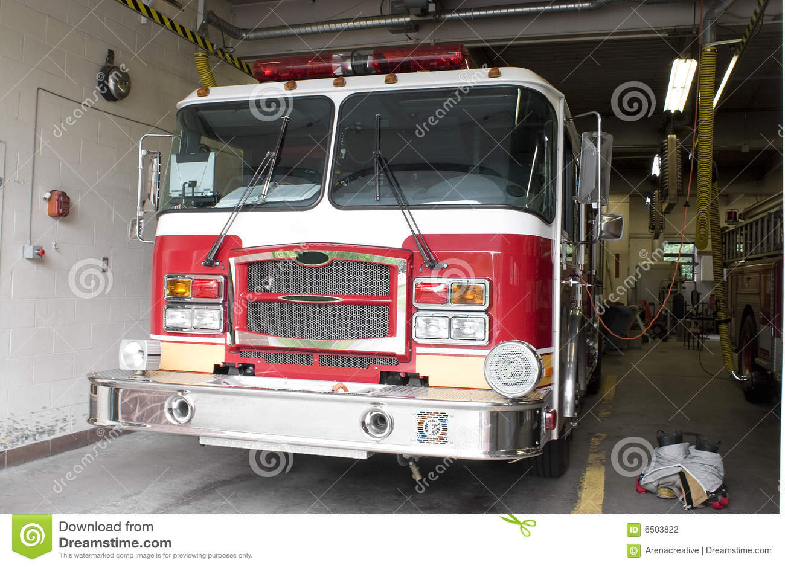 Gatunek pożarnicza nowa ciężarówka