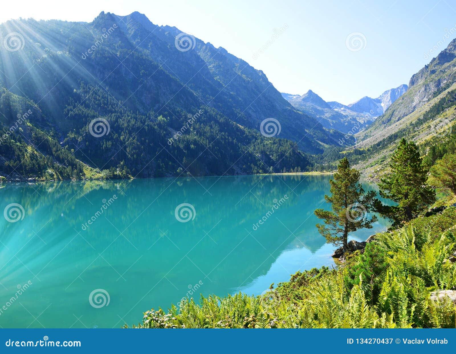 Gaube See im Nationalpark Pyrenäen, Frankreich