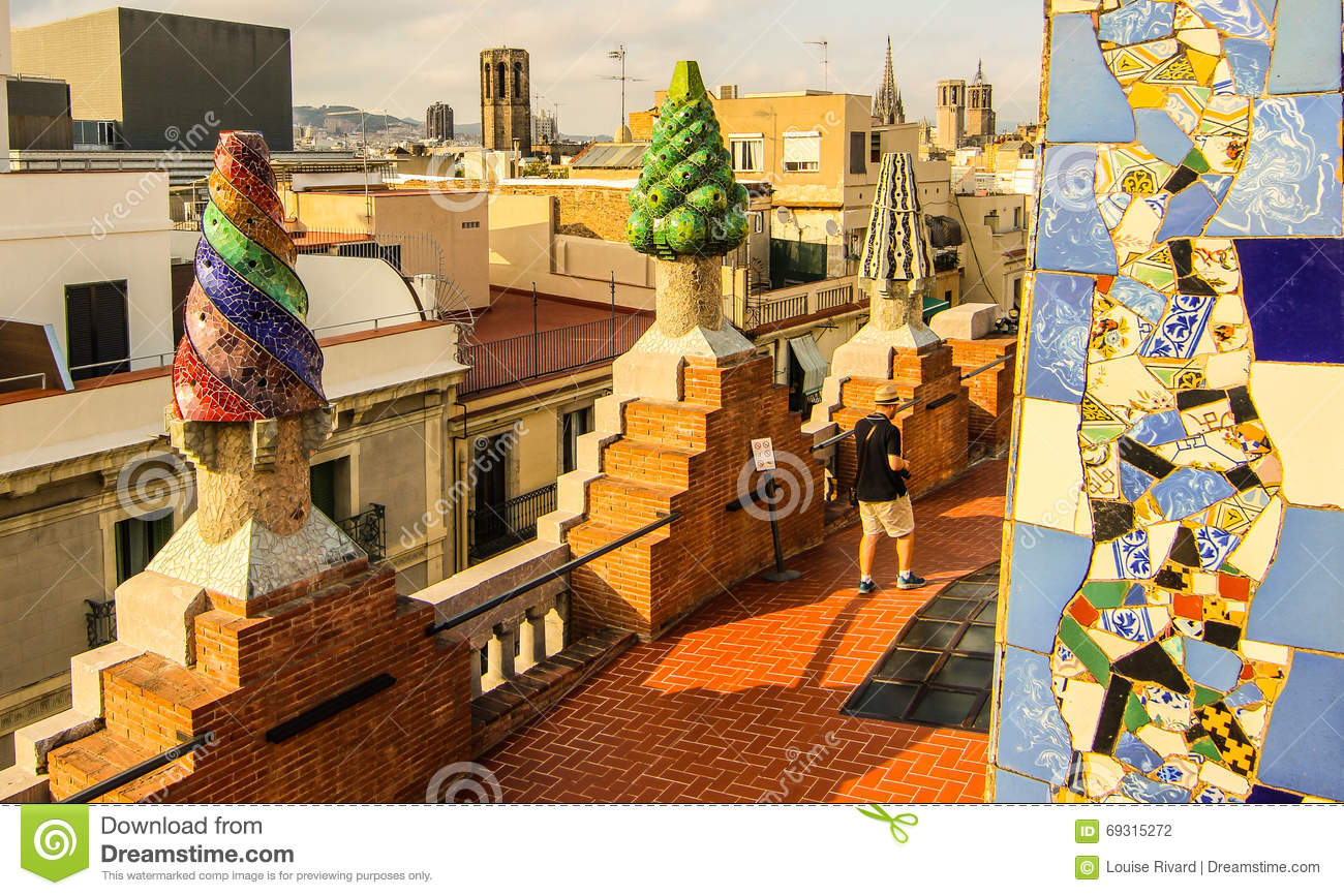 Gaudi Colourful Architecture Editorial Photography Image Of Colour