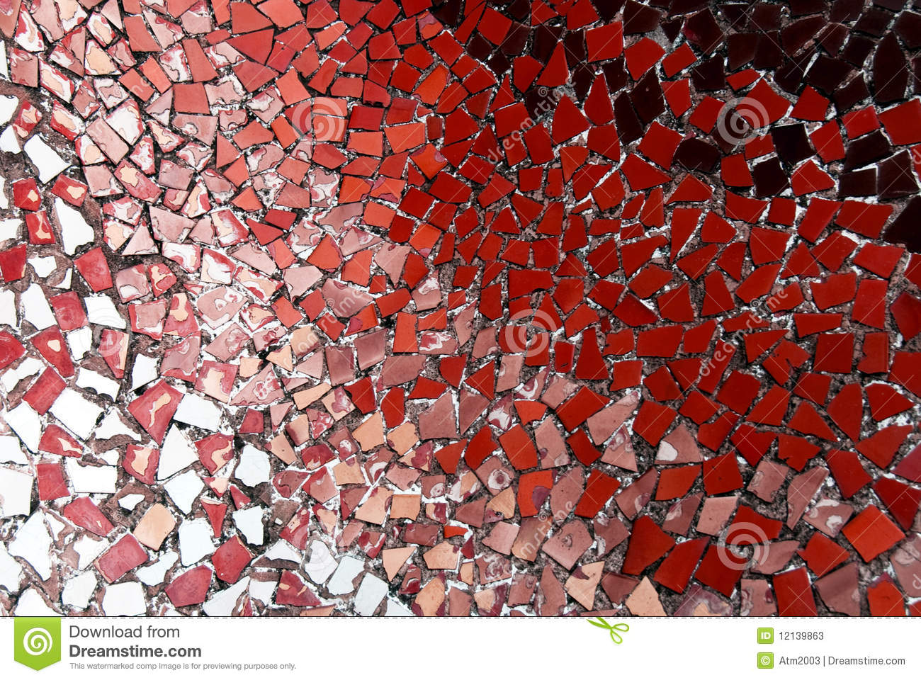 Gaudi Mosaic Pattern Stock Photos Image 12139863