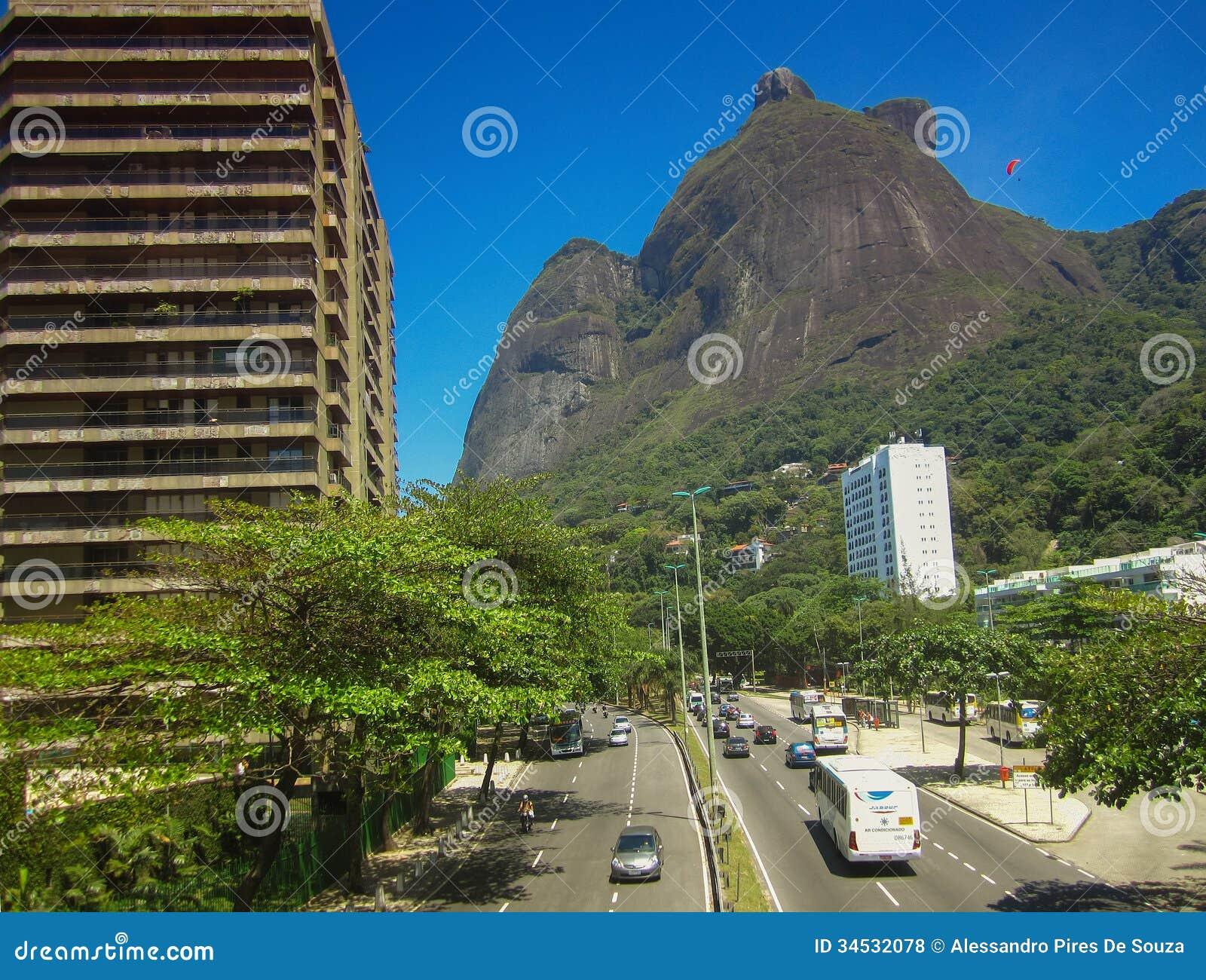 Gavea Stone Pedra Da Gavea Rio De Janeiro Editorial