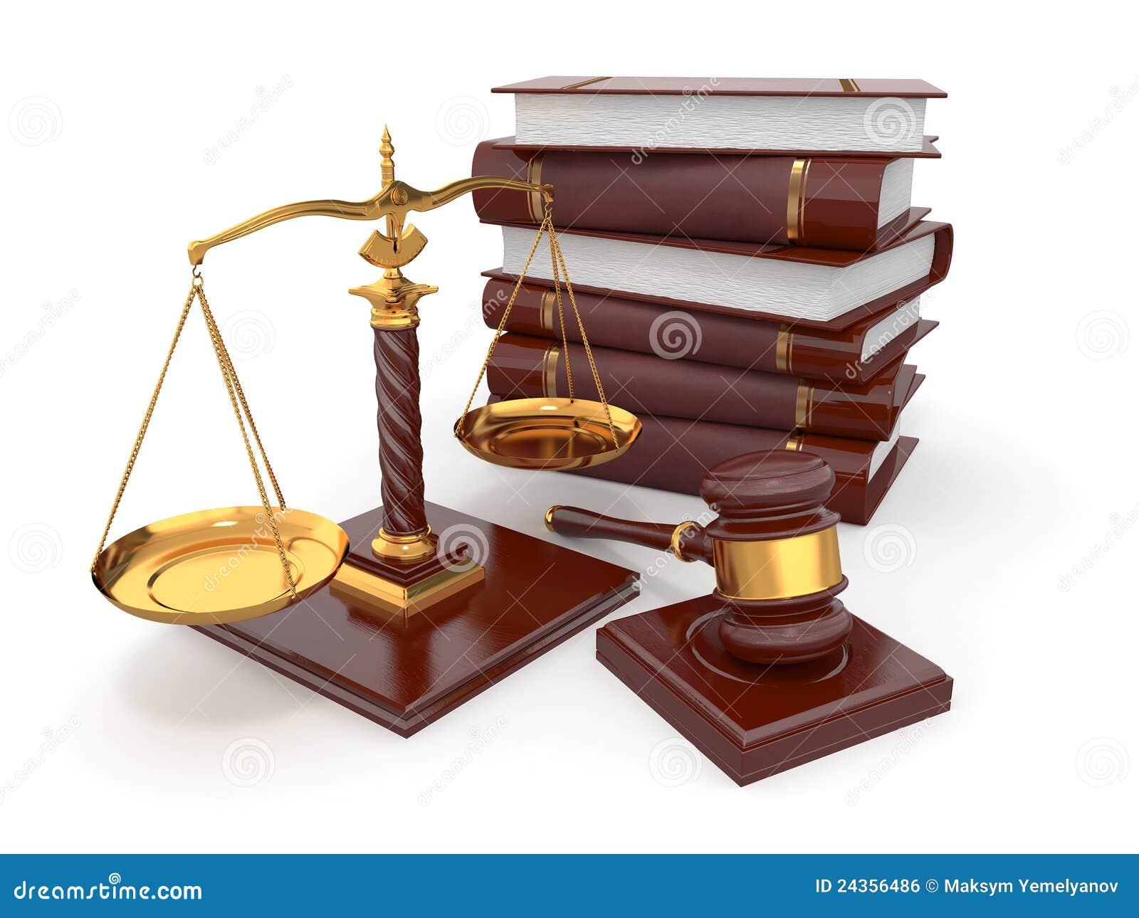 Gavel έννοιας κλίμακα νόμου δικαιοσύνης