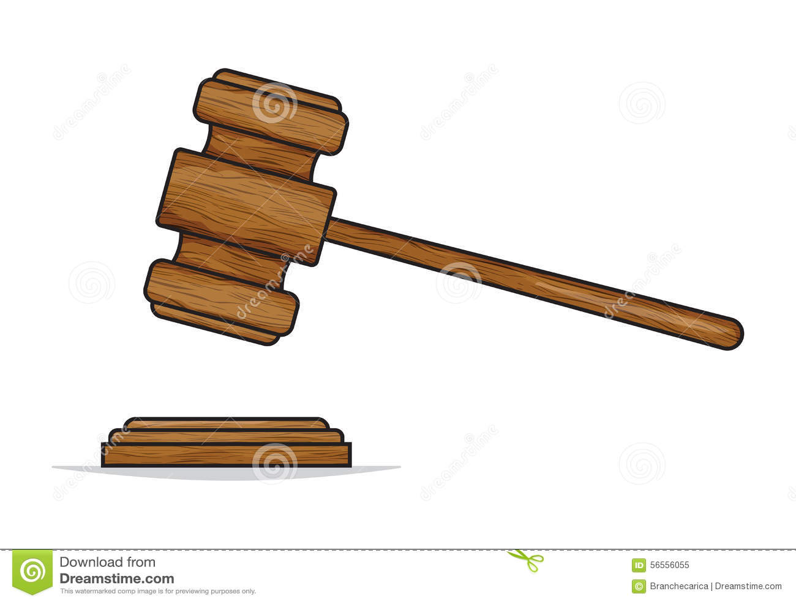 Download Gavel δικαστών ή σφυρί δημοπρασίας Διανυσματική απεικόνιση - εικονογραφία από δικηγόρος, δικαστήριο: 56556055