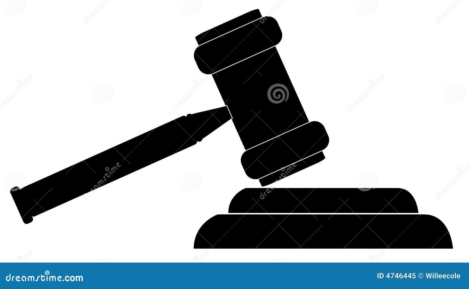 gavel stock vector illustration of business final black 4746445 rh dreamstime com