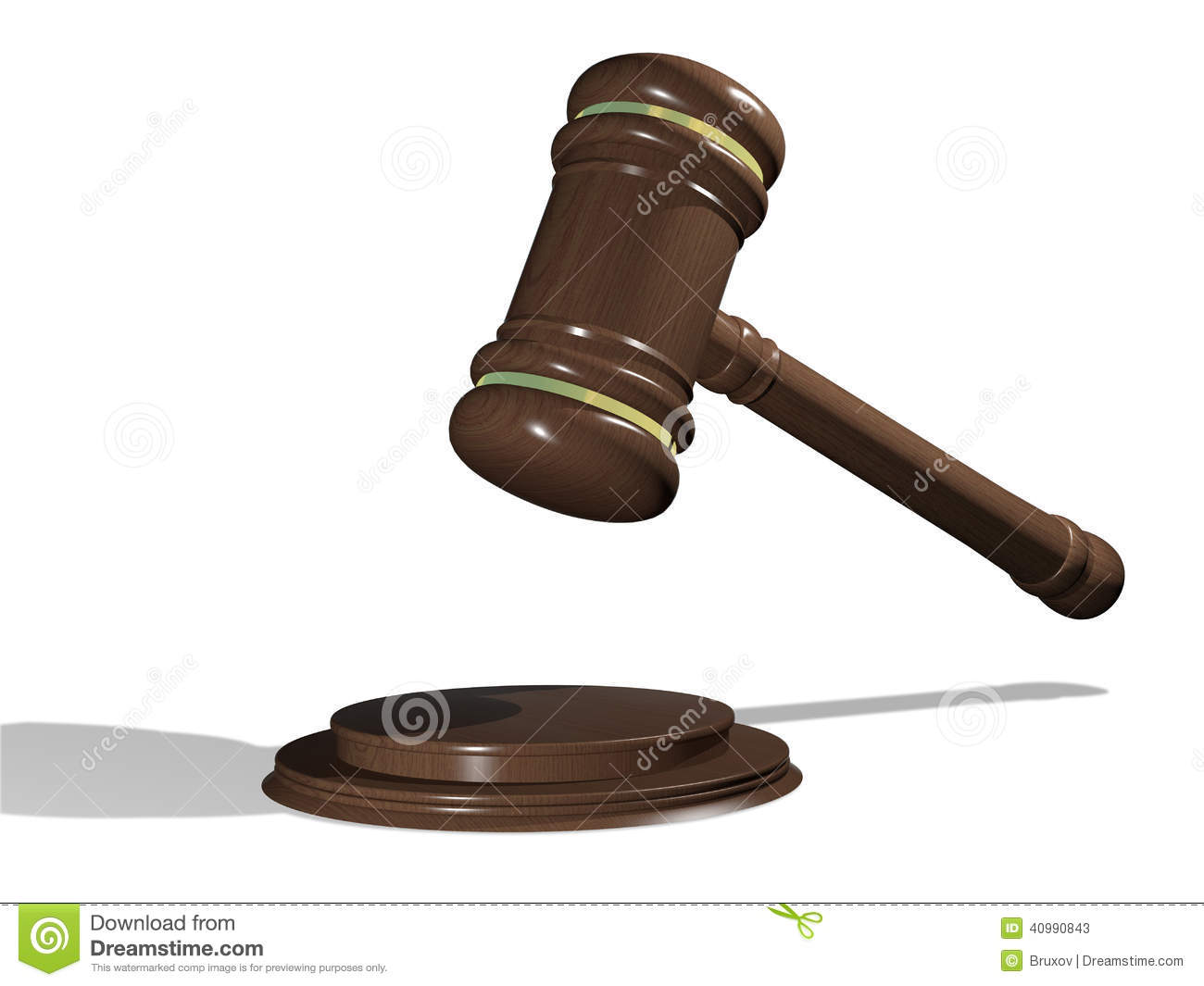 Stock photos mallet of judge image 10990093 - Illustration