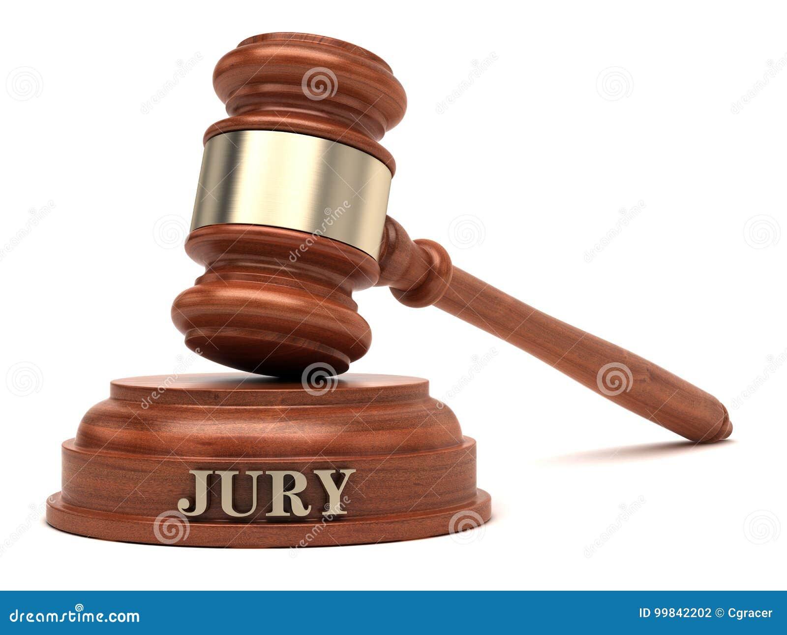 Jury Judge Gavel Court Trial
