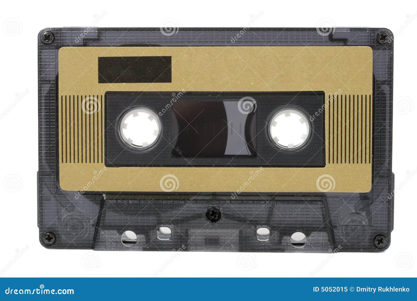 Gaveta audio (fita) isolada