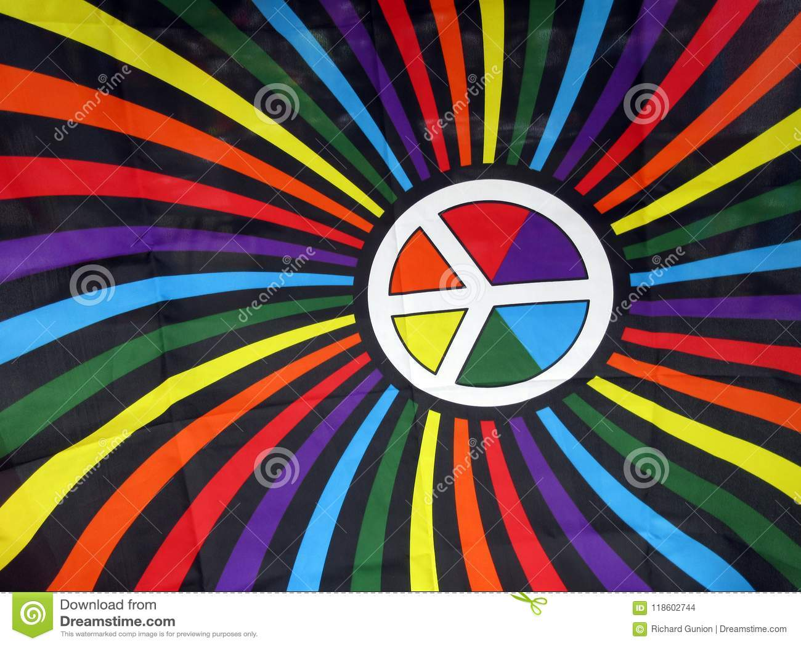 Gay colorido Pride Flag para la venta