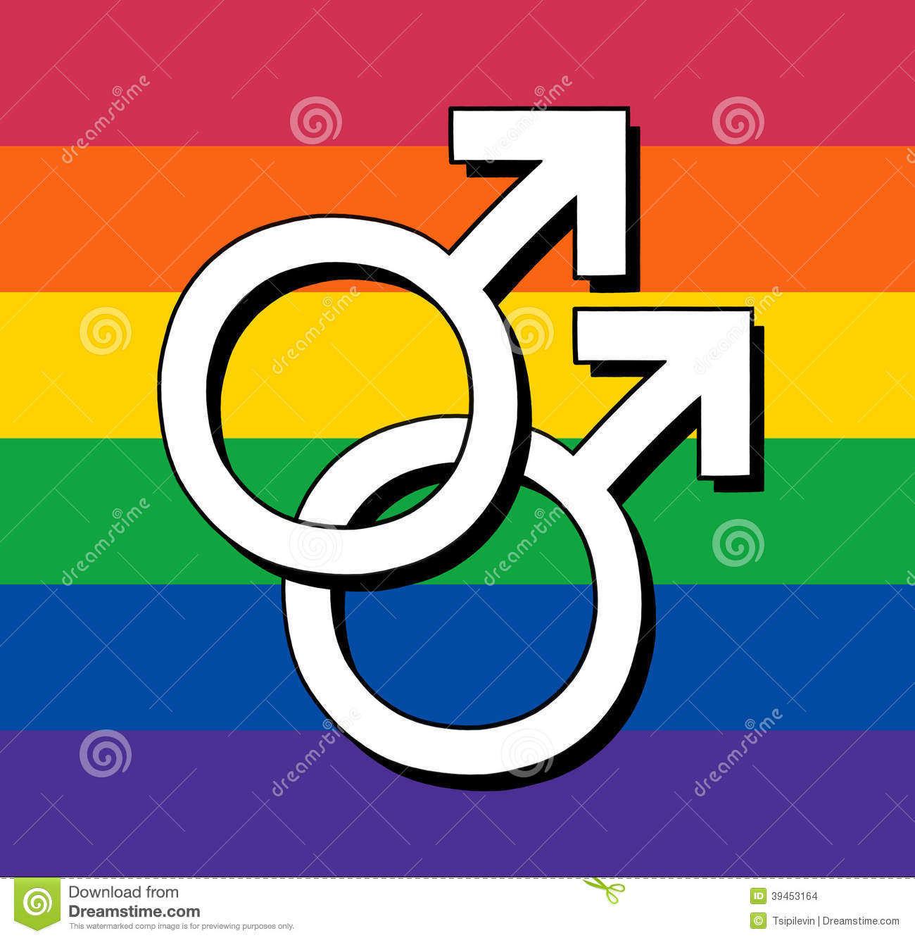 Gay flag with male symbol stock illustration illustration of gay flag with male symbol buycottarizona