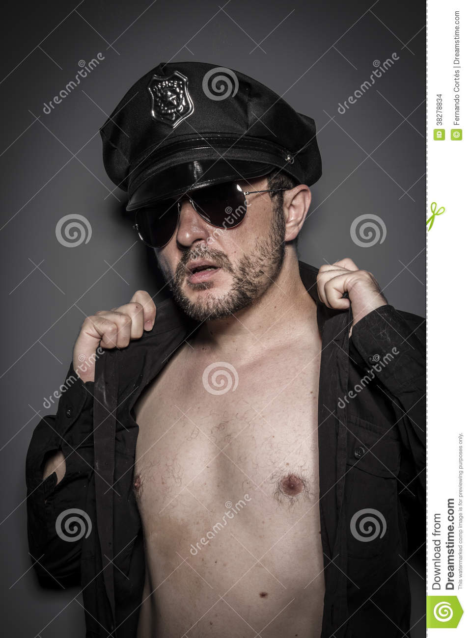 Gay Sexy Download throughout gay, good looking policeman, police stock photo - image: 38278834