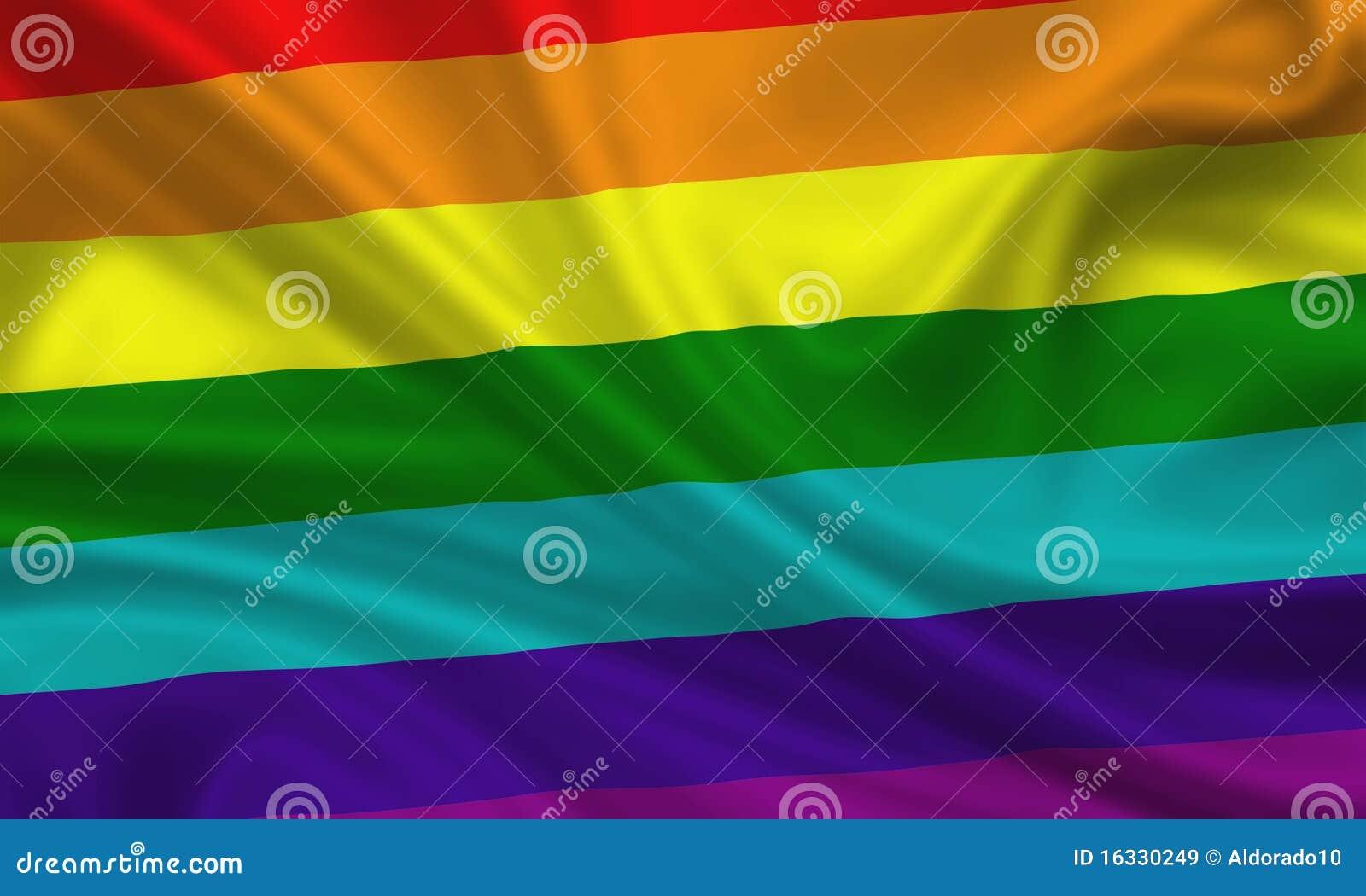 Gay lesbian flag