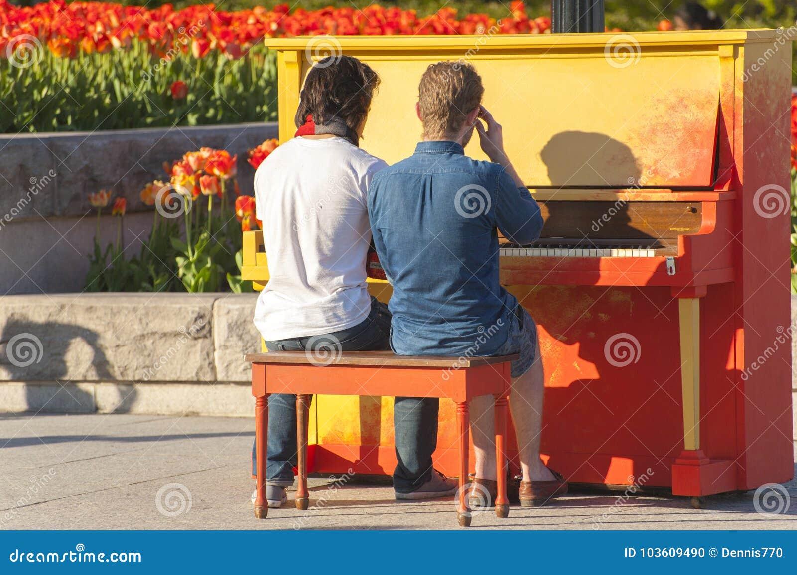 gay play piano
