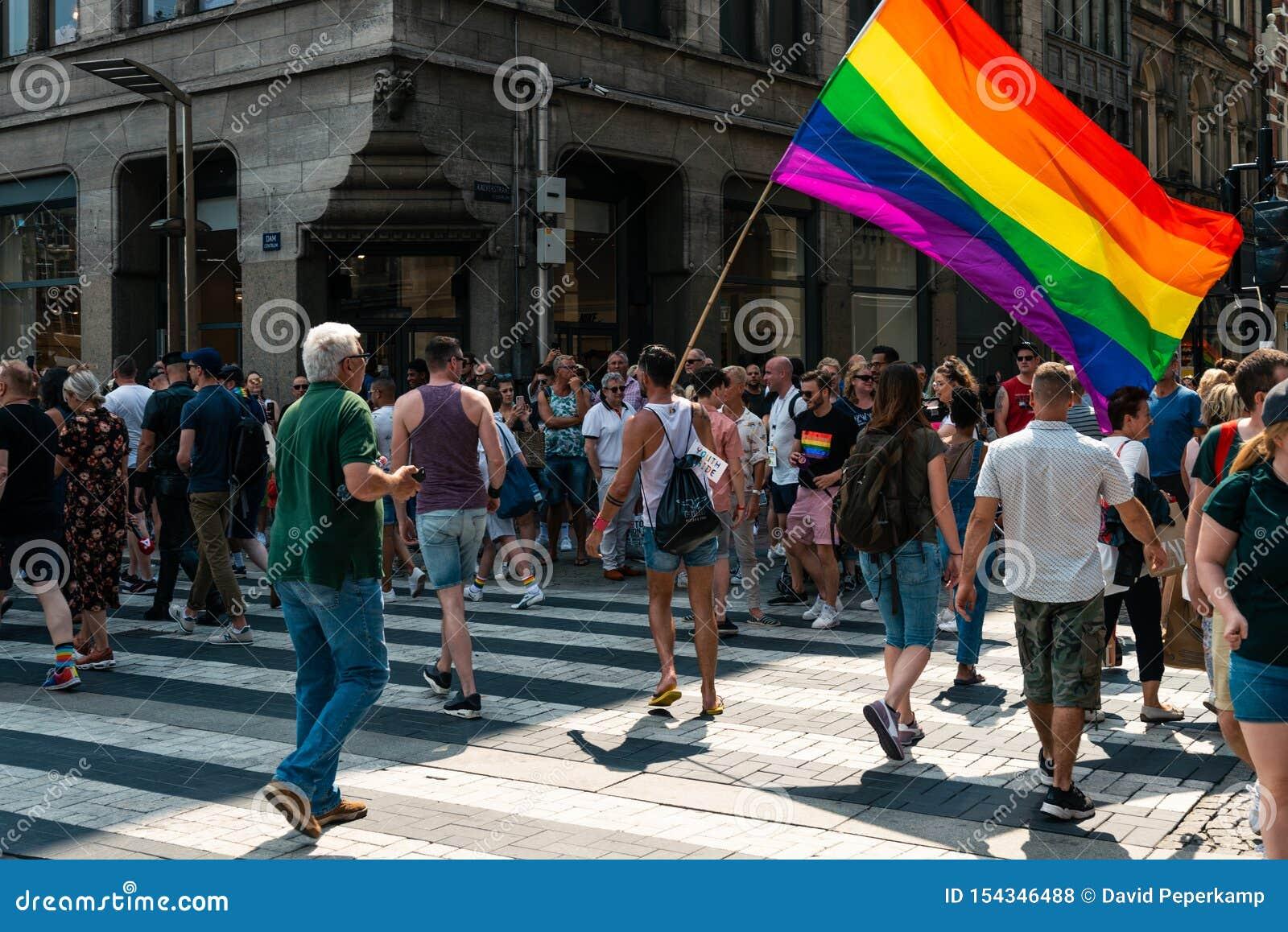 DUTCH GAY FLAG
