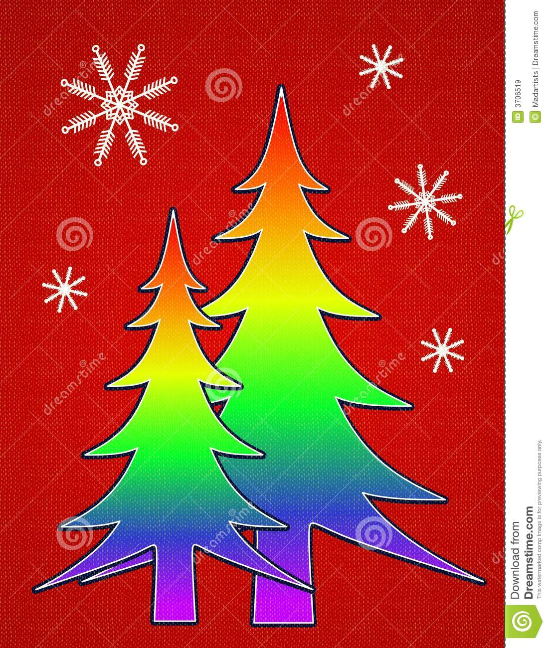with snowflake designs and a touch of texture Rainbow gay