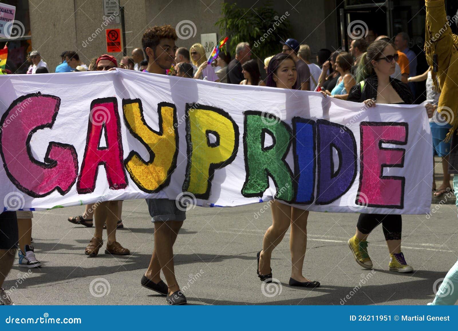 Gay pride parade date