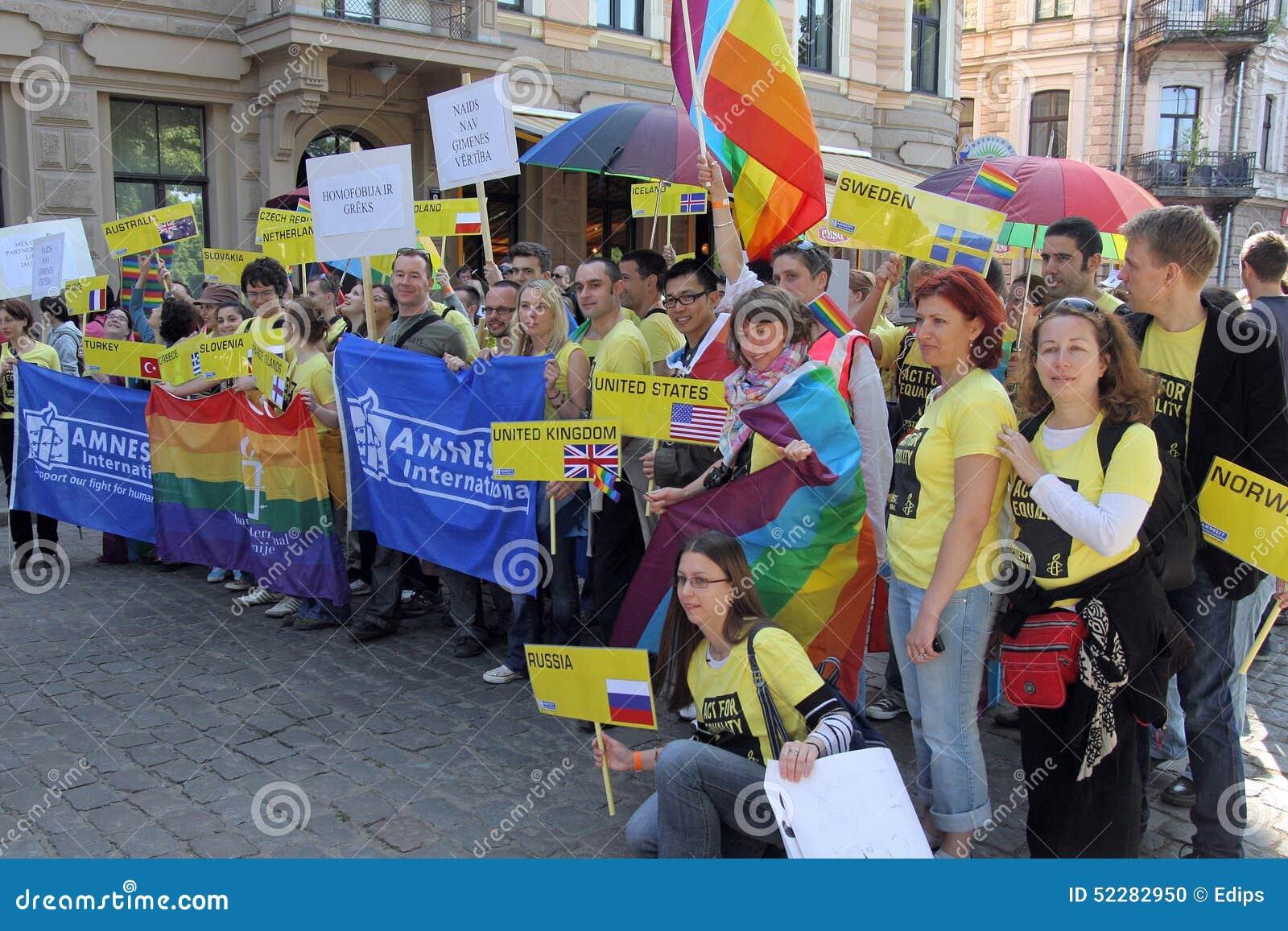 Latvia riga gay