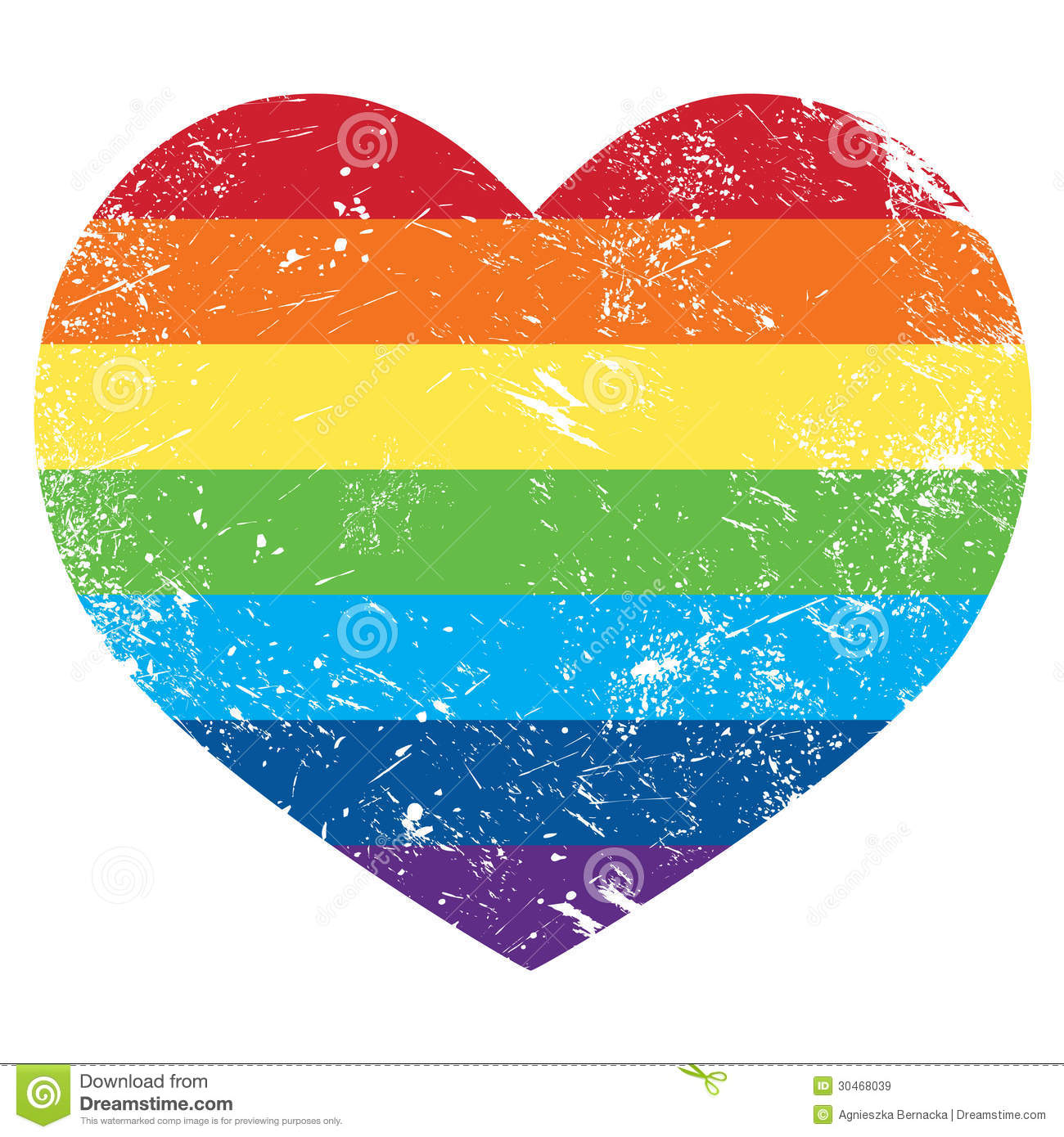 1b79dc3f Gay Rights Rainbow Retro Heart Flag Stock Illustration ...