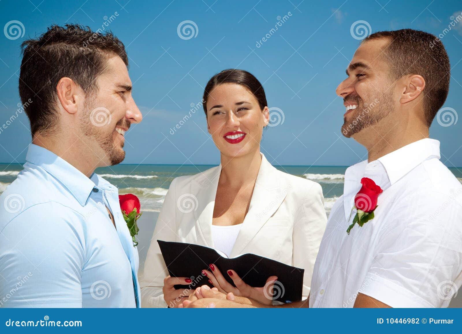 a gay wedding ceremony
