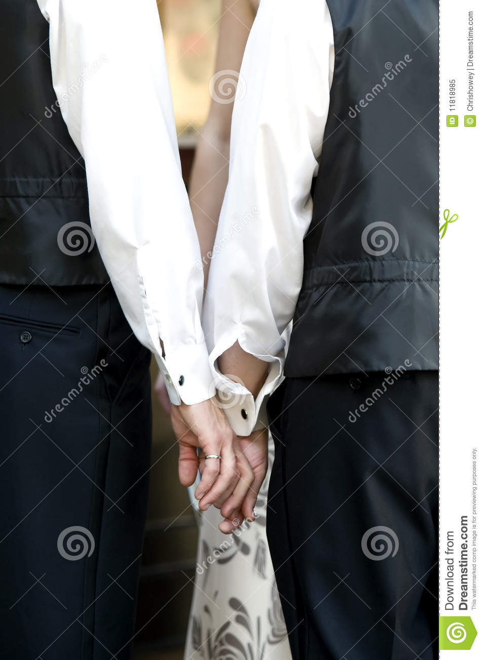royalty free stock photo gay wedding couple holding hands image gay mens wedding rings Gay Wedding Couple Holding Hands