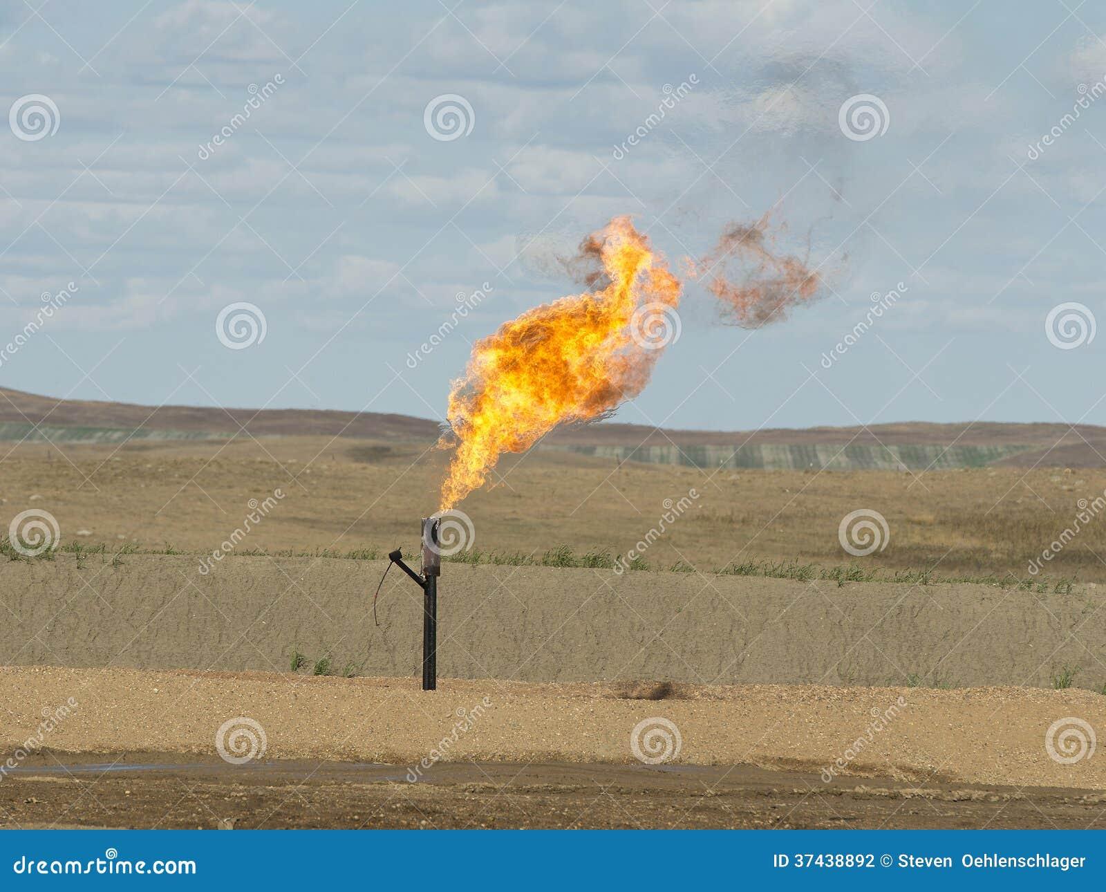 Gaz naturel évasé