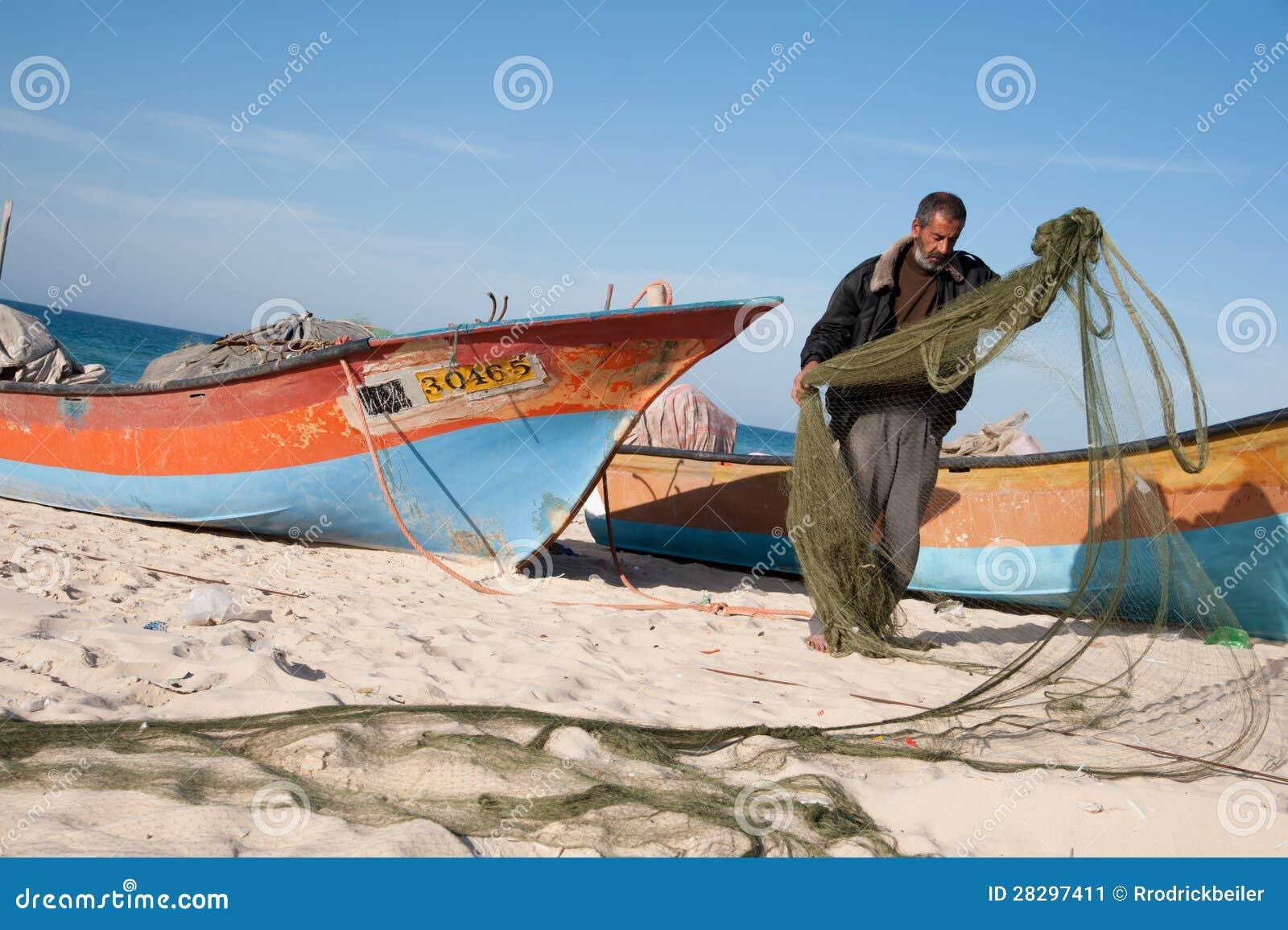 Gaza fiskare