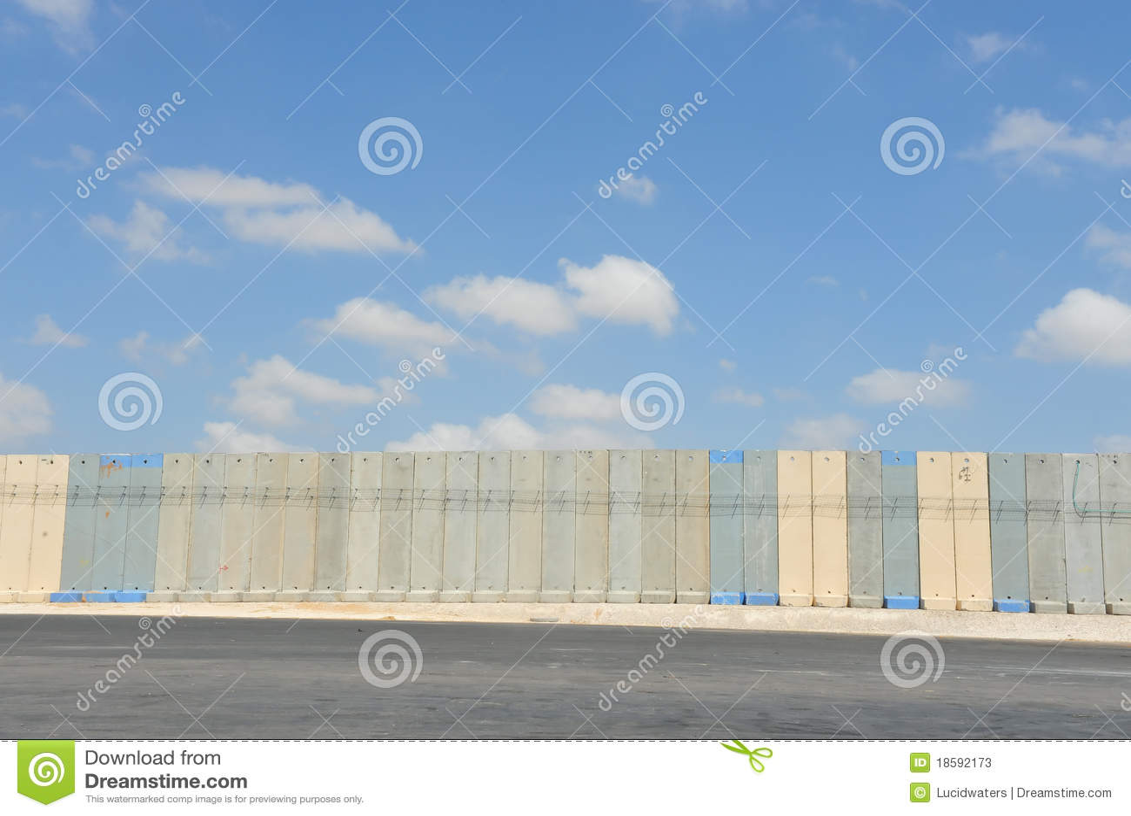 Gaza israel avskiljandevägg