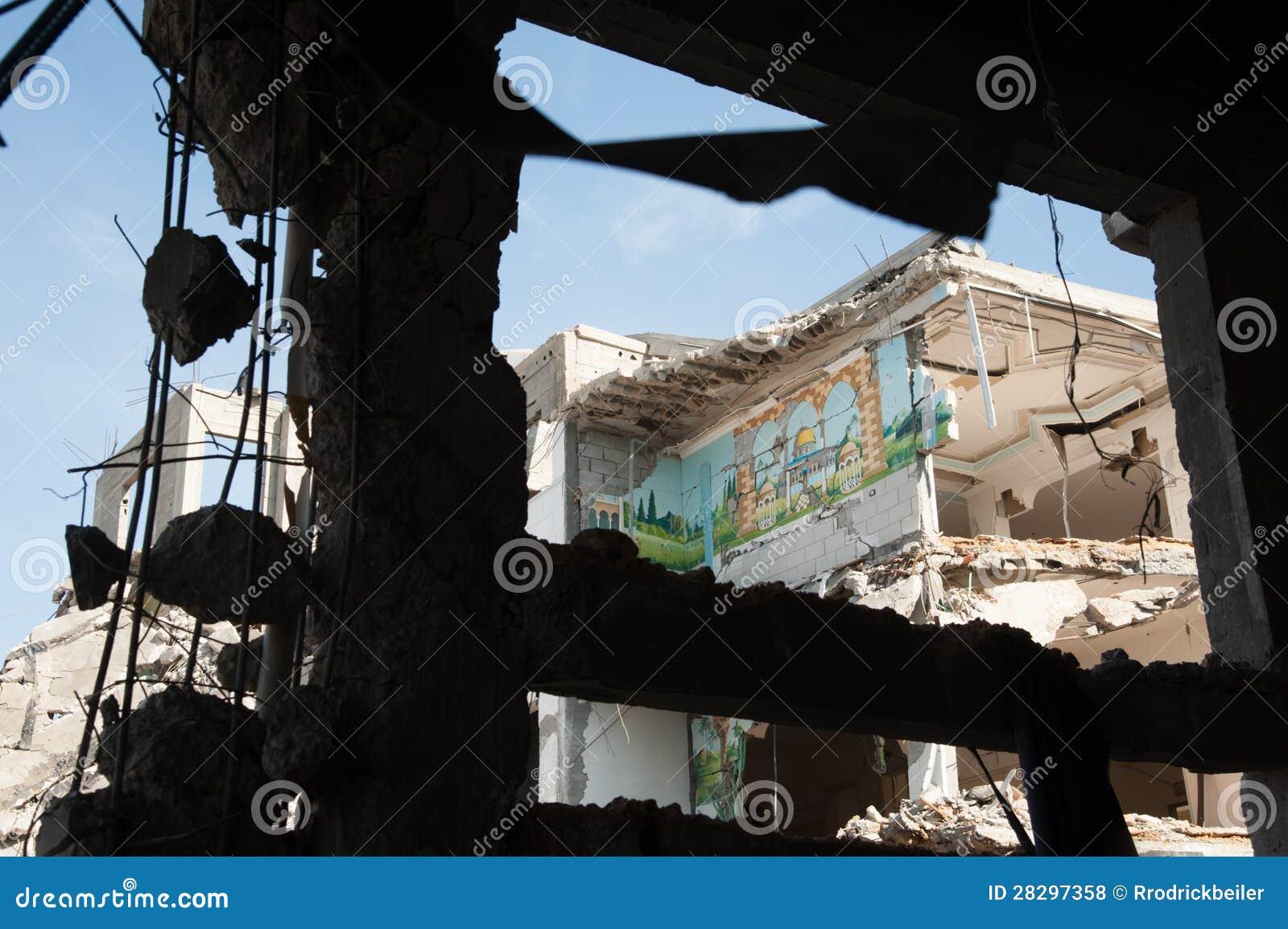 Gaza kriger skada