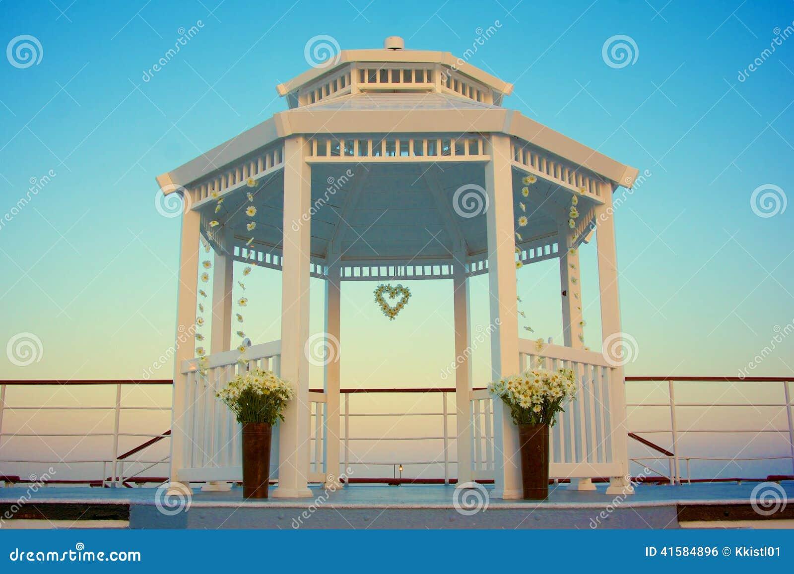 Gazebo Decorazioni di nozze
