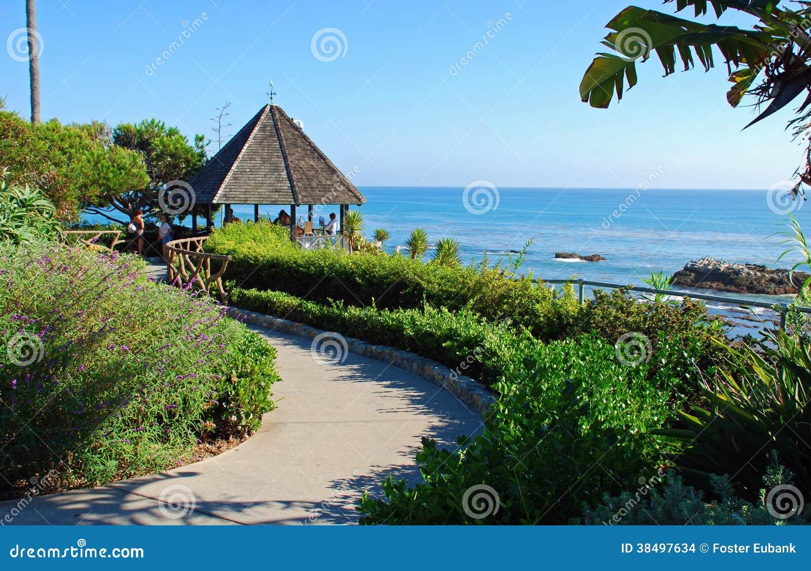 Laguna Beach Heisler Park Gazebo Ca