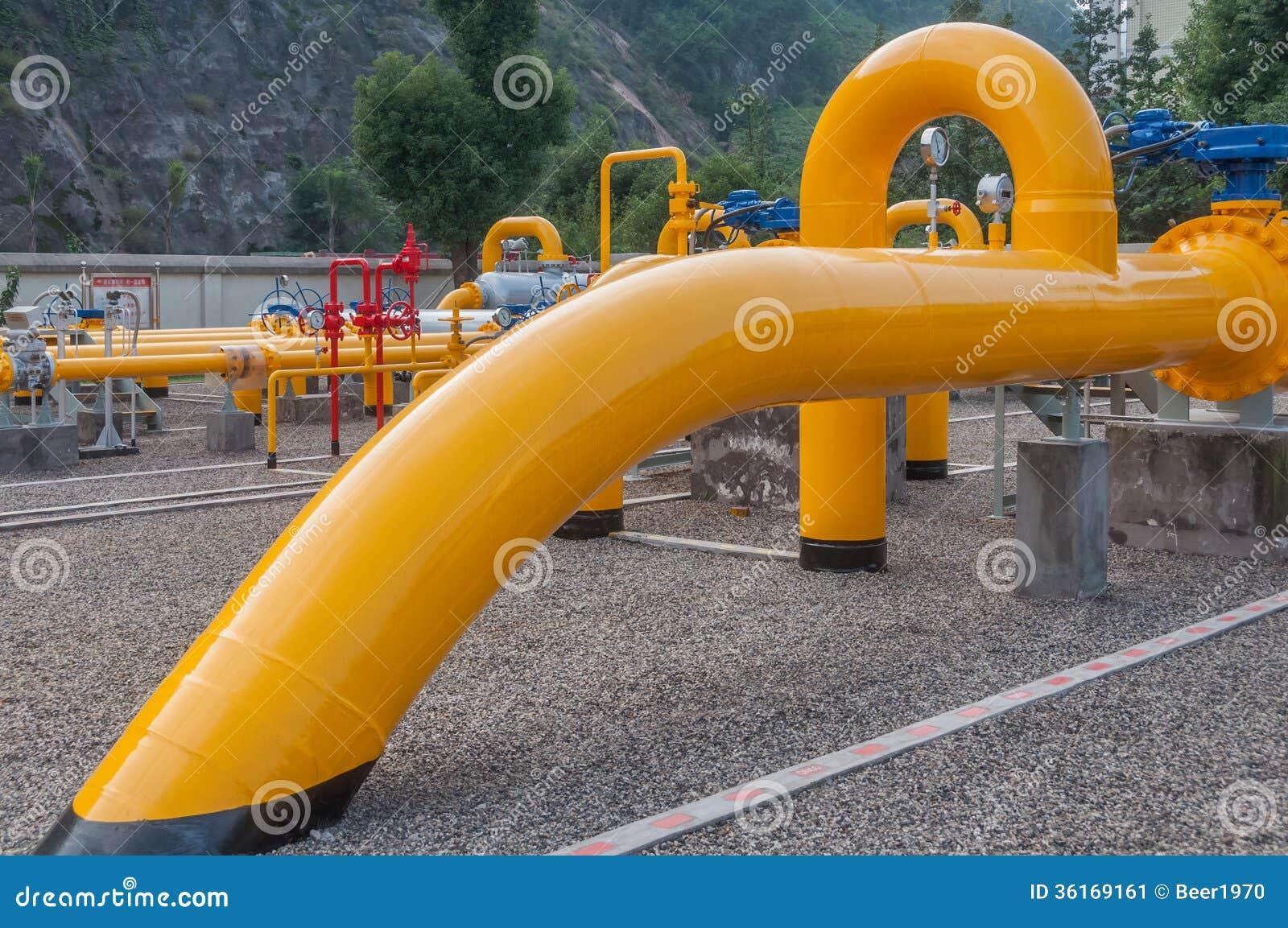 Gazoduc naturel