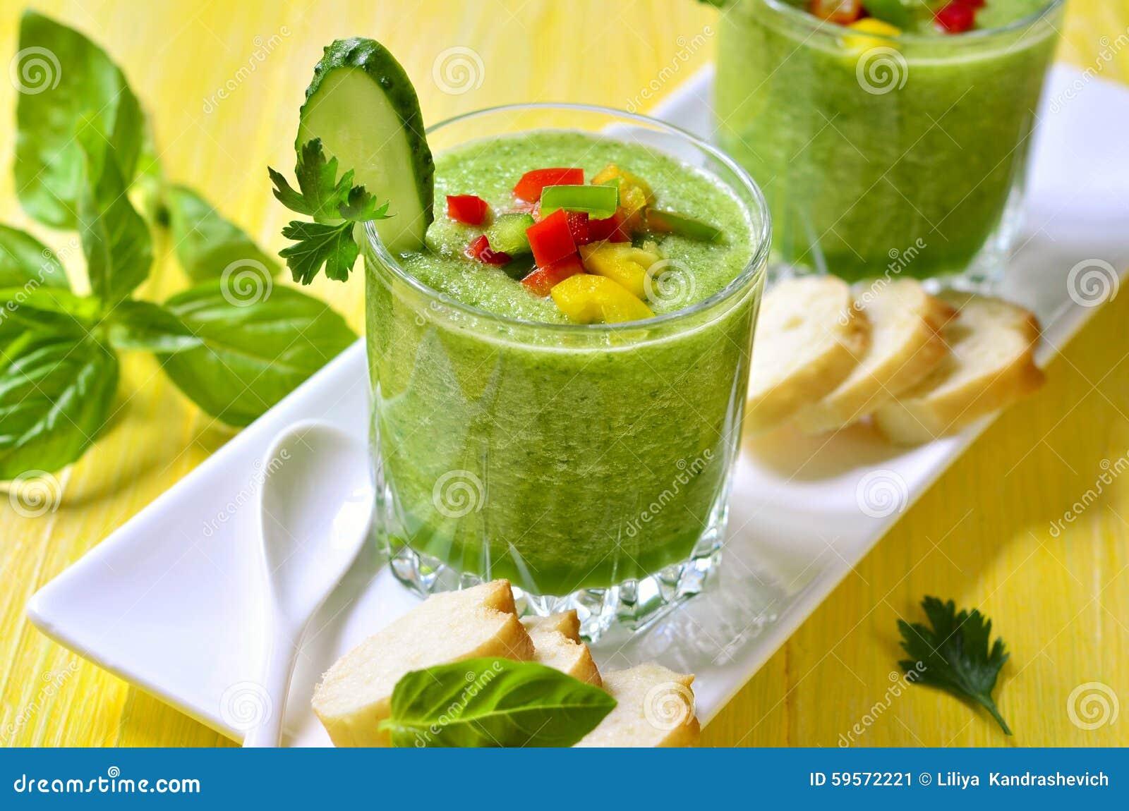 Gazpacho del pepino