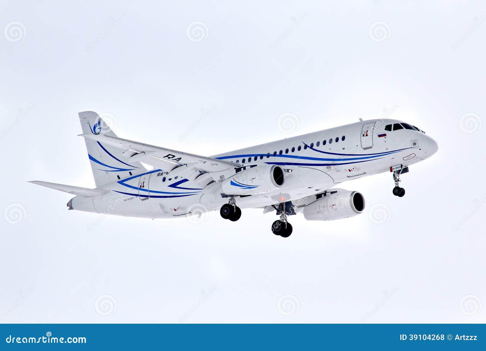 Gazpromavia Sukhoi Superjet 100-95LR
