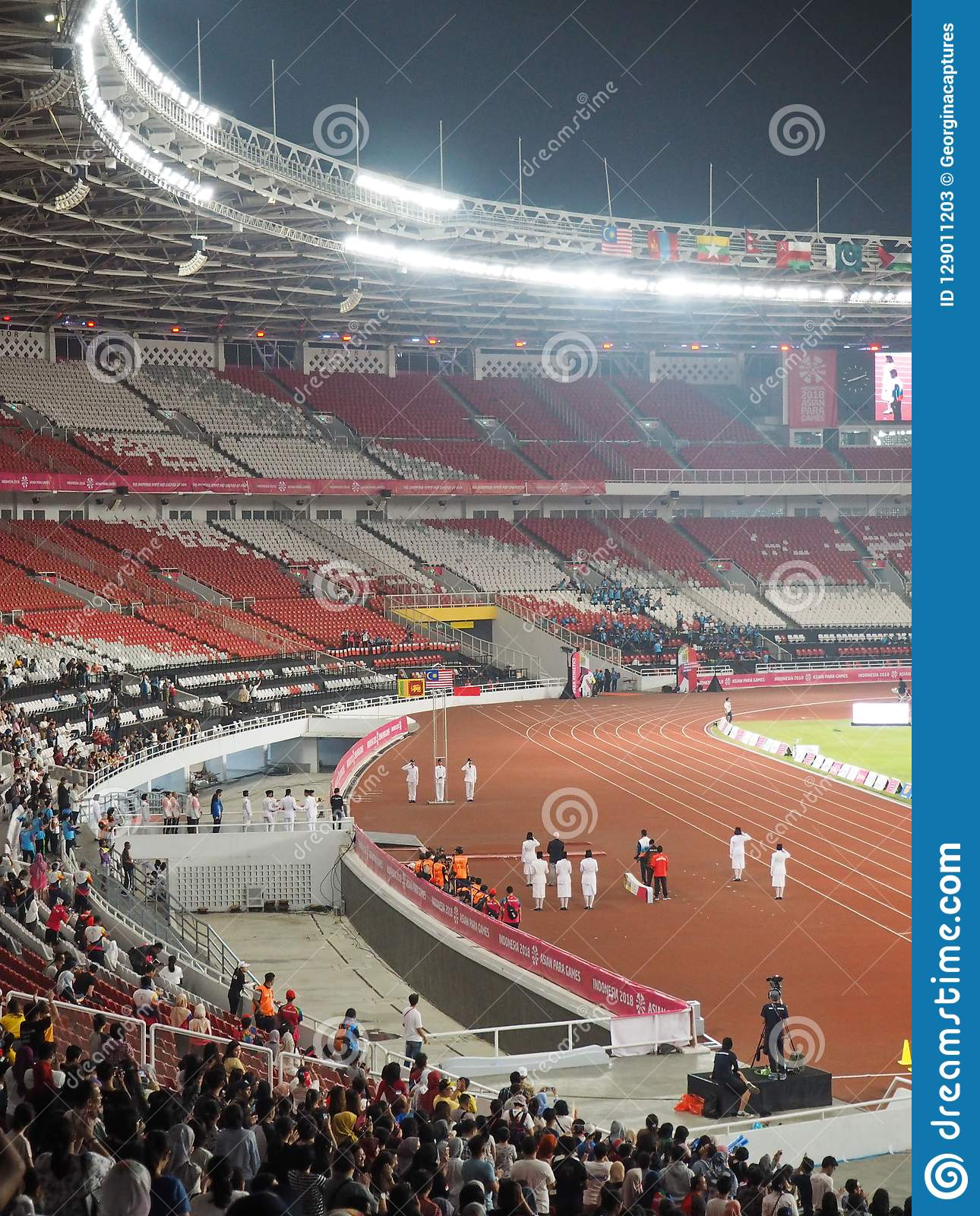 Gbk Sports Complex In Senayan Editorial Stock Photo Image Of