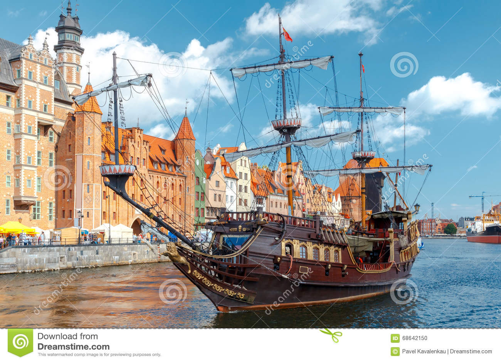 Gdansk Cais da cidade central