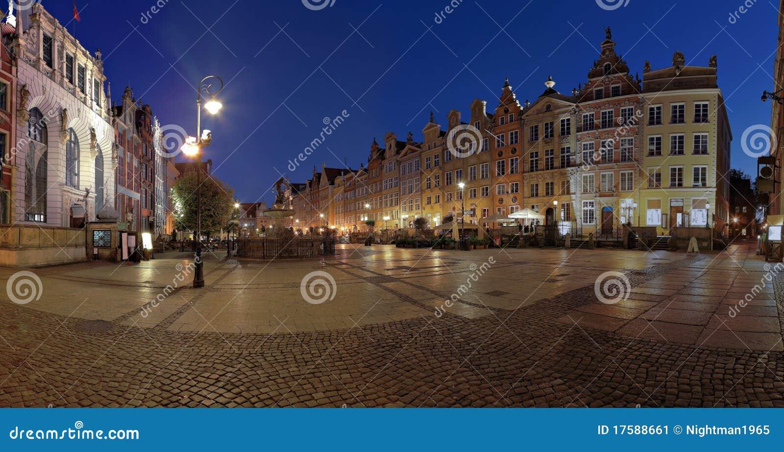 Gdansk na noite