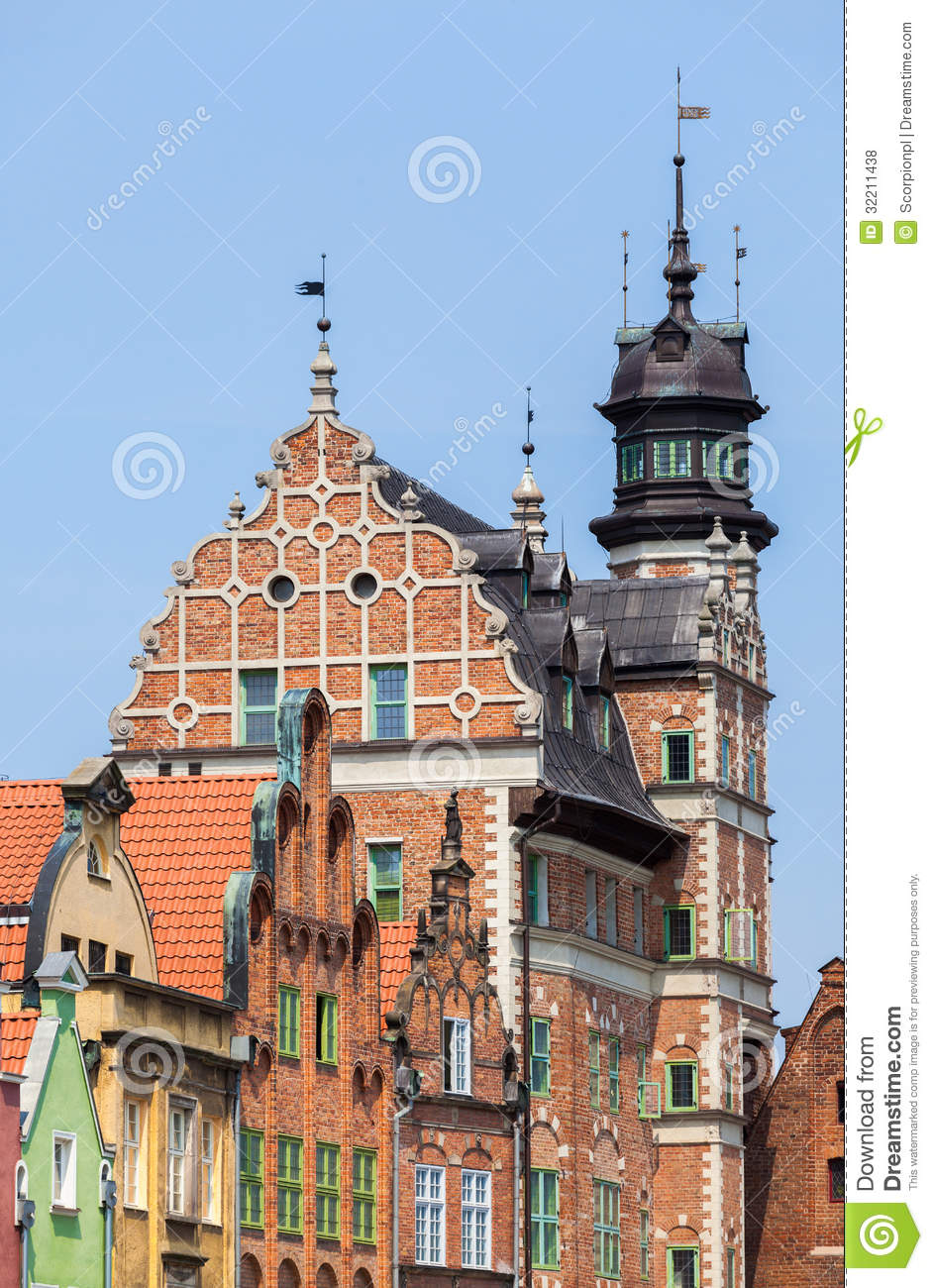Gdansk Old Town Poland Royalty Free Stock Photos Image