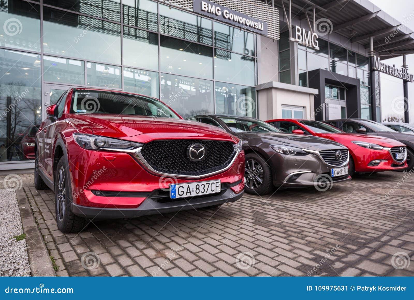 Mazda Dealerships In Georgia >> Mazda Cx 5 At The Car Showroom Editorial Photo Image Of
