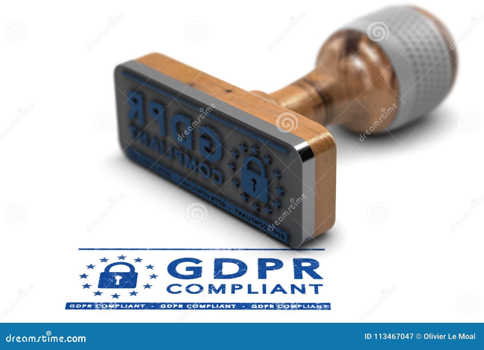 GDPR-Befolgung, allgemeine Daten-Schutz-Regelung EU konform
