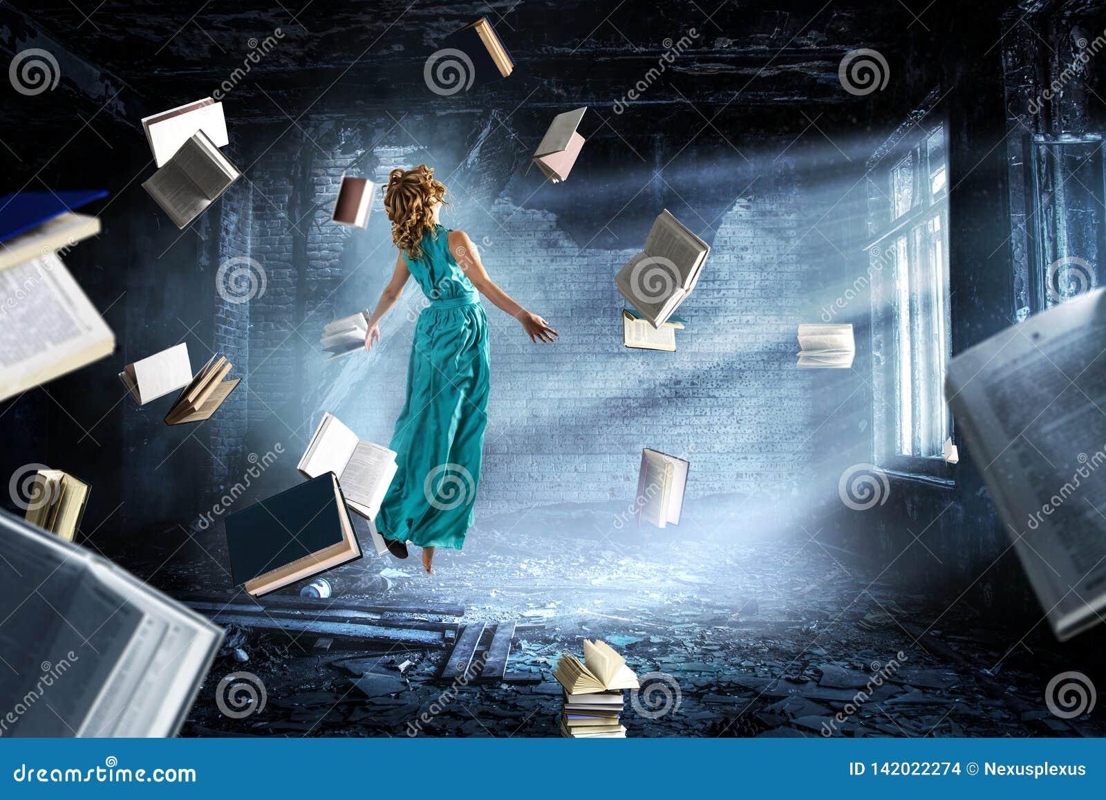 Gdy czytać bierze twój oddalonego Mieszani środki