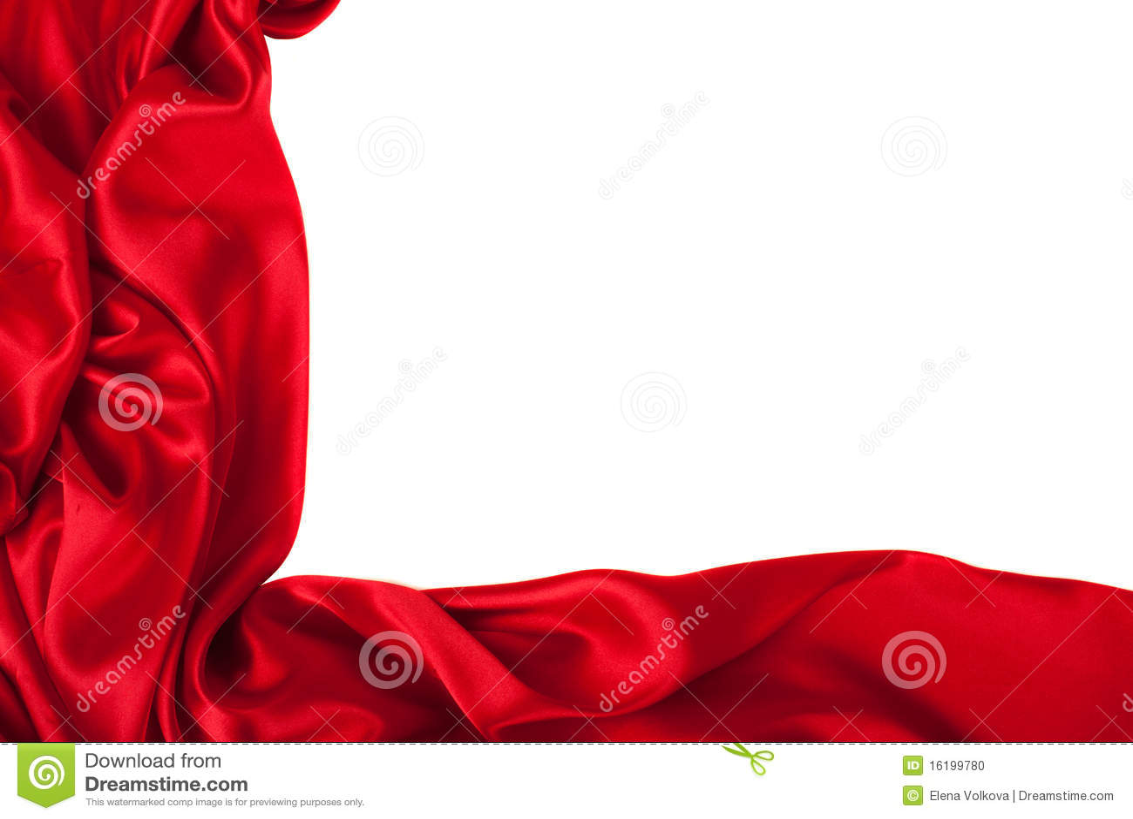 Gdy tło może używać gładki elegancki czerwony jedwab