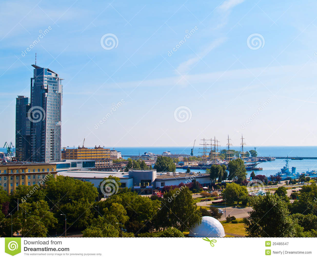 Gdynia Poland  City pictures : Gdynia, Poland Royalty Free Stock Photography Image: 20485547