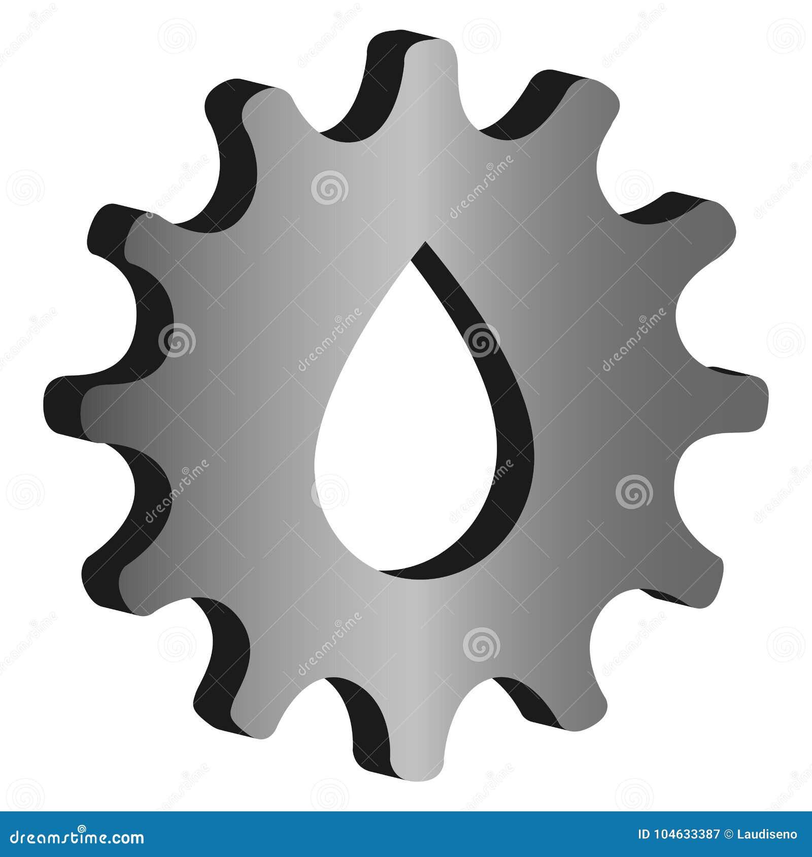Download Geïsoleerd Toestelpictogram Vector Illustratie - Illustratie bestaande uit samenwerking, industry: 104633387