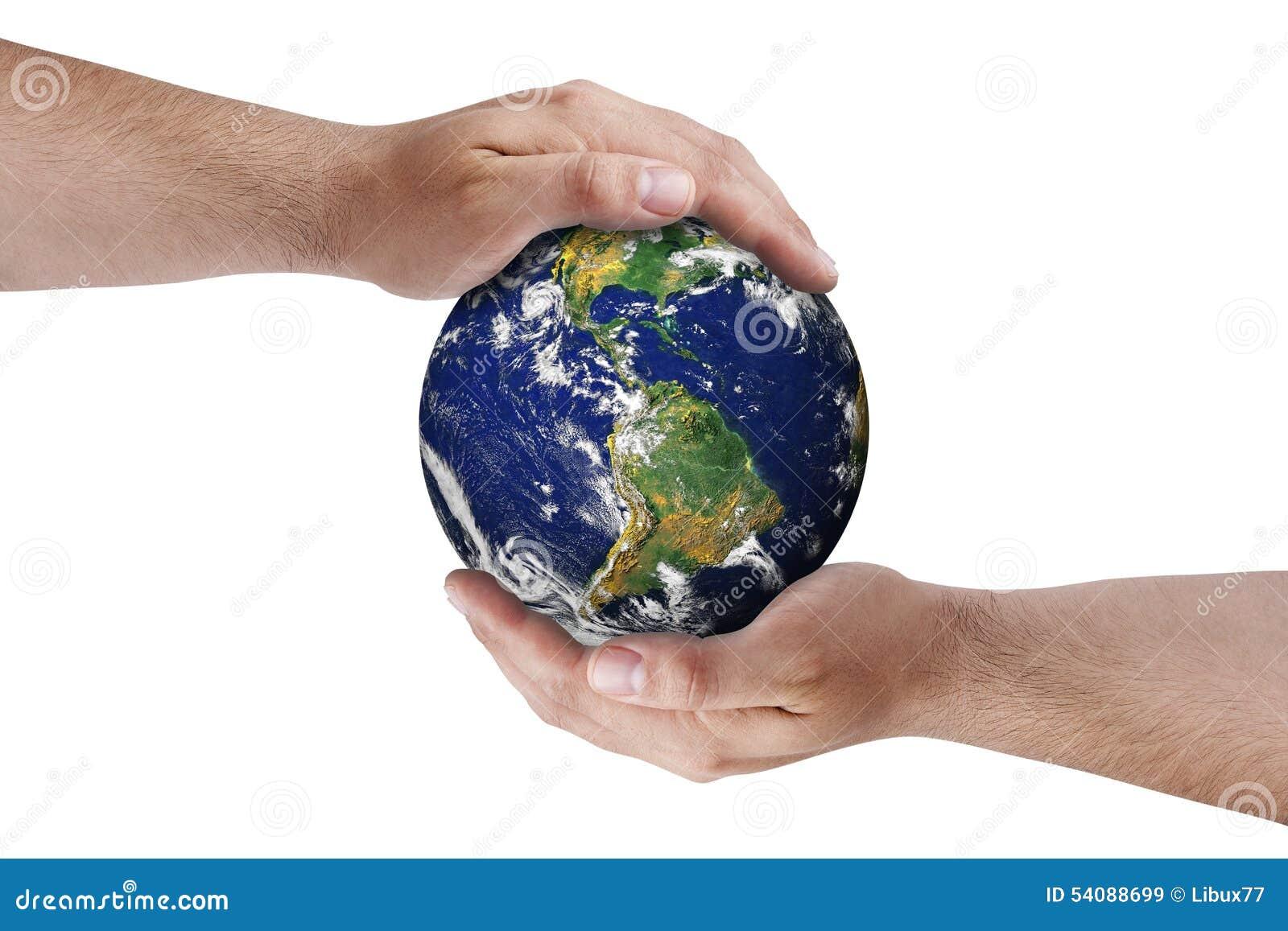 Geïsoleerde de Milieubescherming van aardehanden