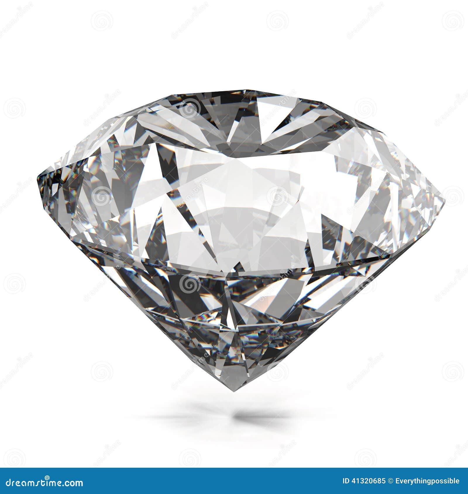 Geïsoleerde diamanten