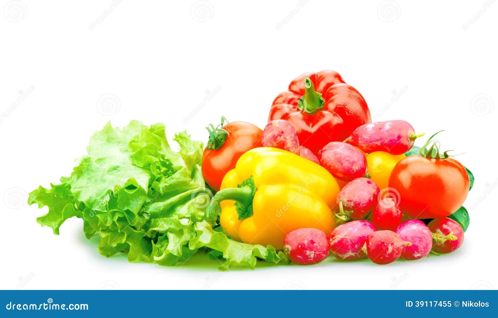 Geïsoleerde groenten