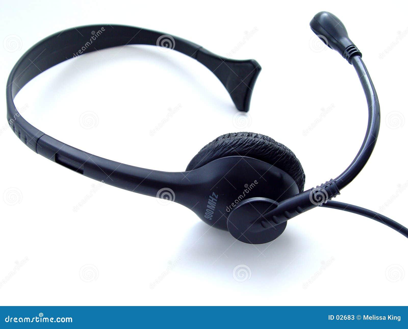 Geïsoleerde hoofdtelefoon
