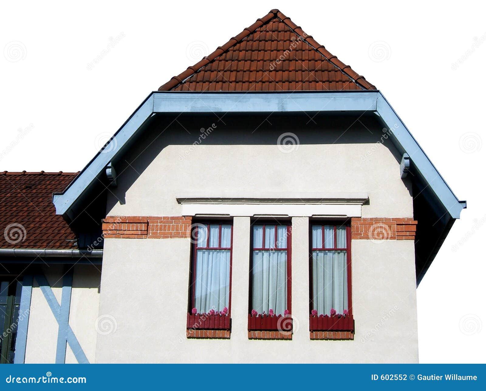 Geïsoleerde huis