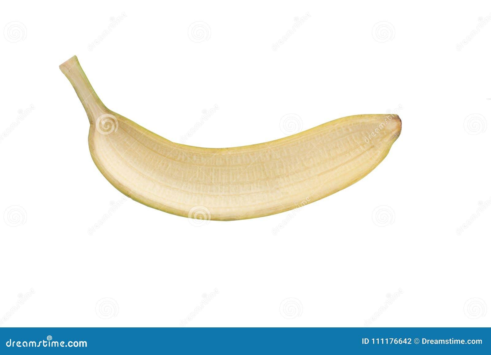 Geïsoleerde lege banaan