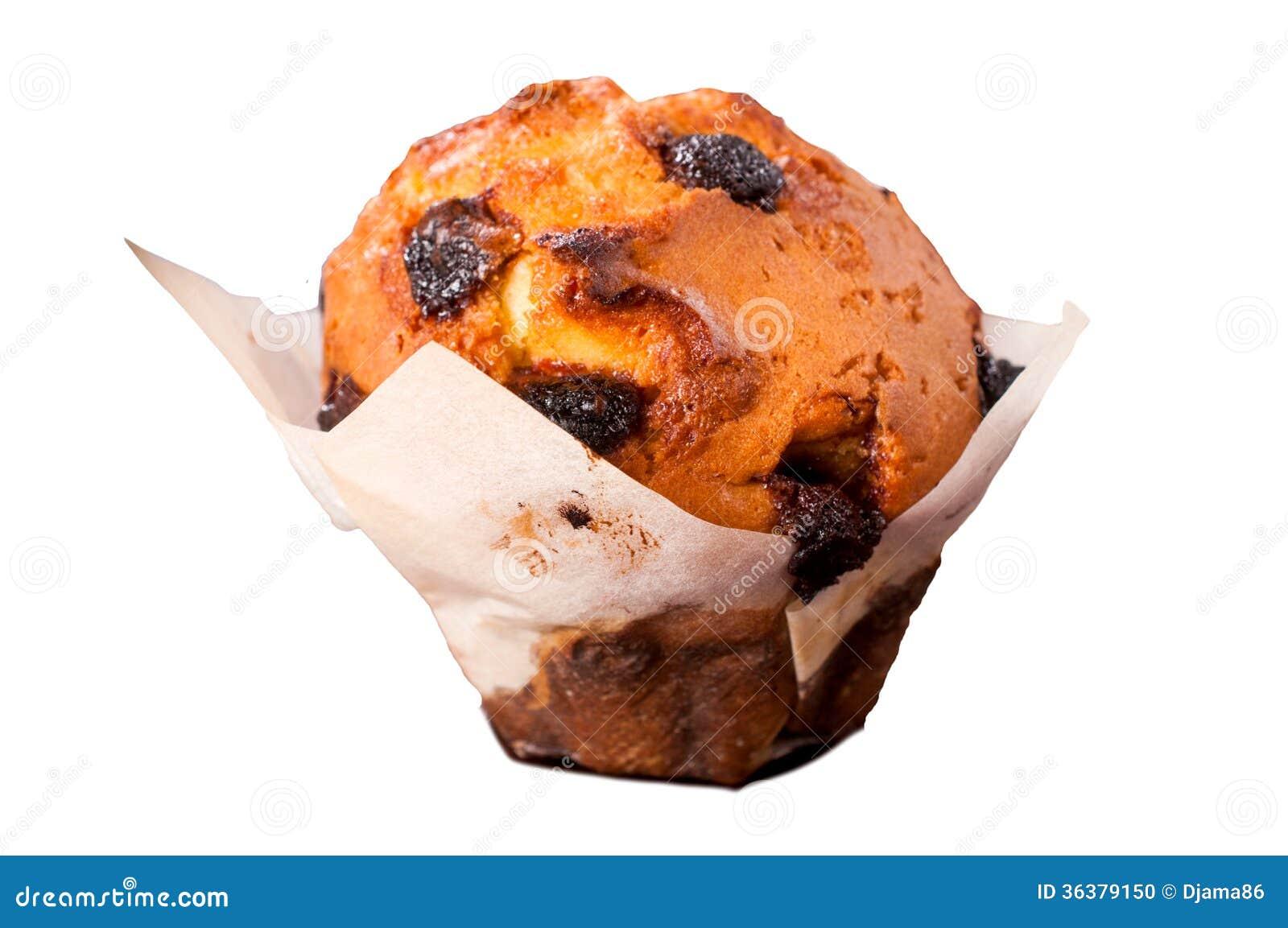 Geïsoleerde muffin