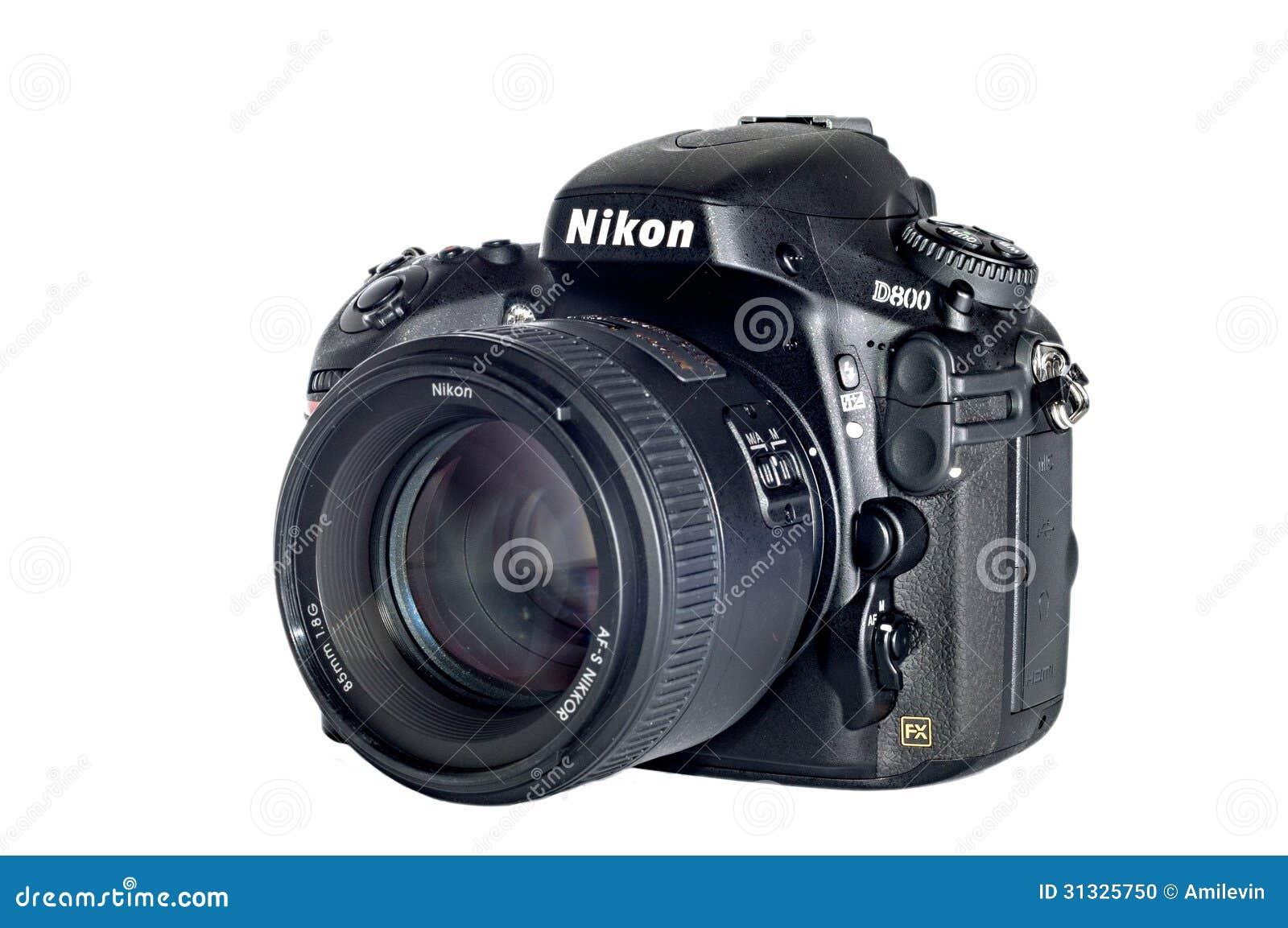Geïsoleerde Nikon D800